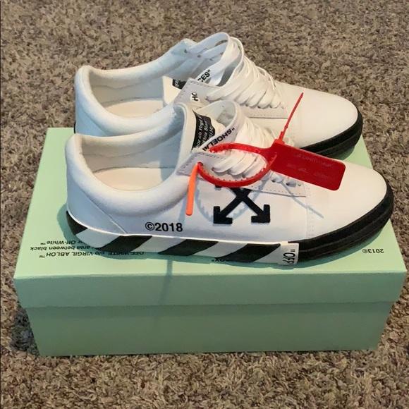260280ec4 Off-White Shoes | Offwhite Co Virgil Abloh Model Vulc Low Top | Poshmark